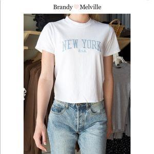 Brandy Melville NY USA shirt, NEW